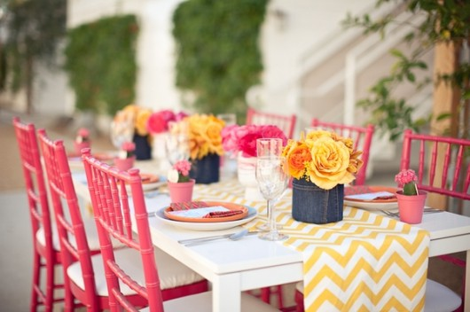 {Design Crush} Chevron Wedding Inspiration